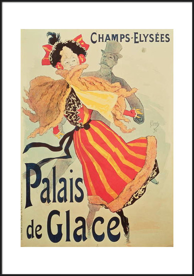 Obrazová reprodukce  'Ice Palace', Champs Elysees, Paris, 1893