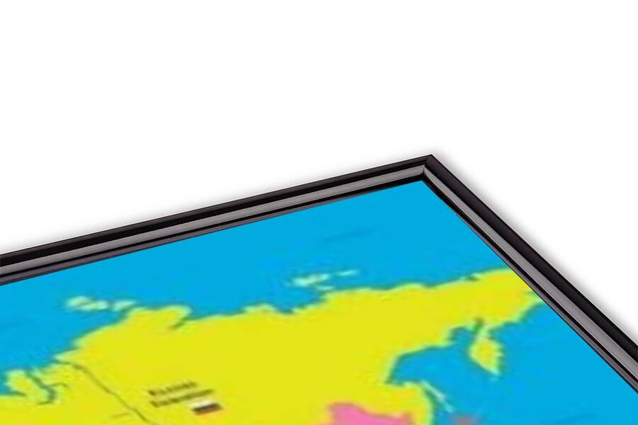 Plakát  World map - population of children