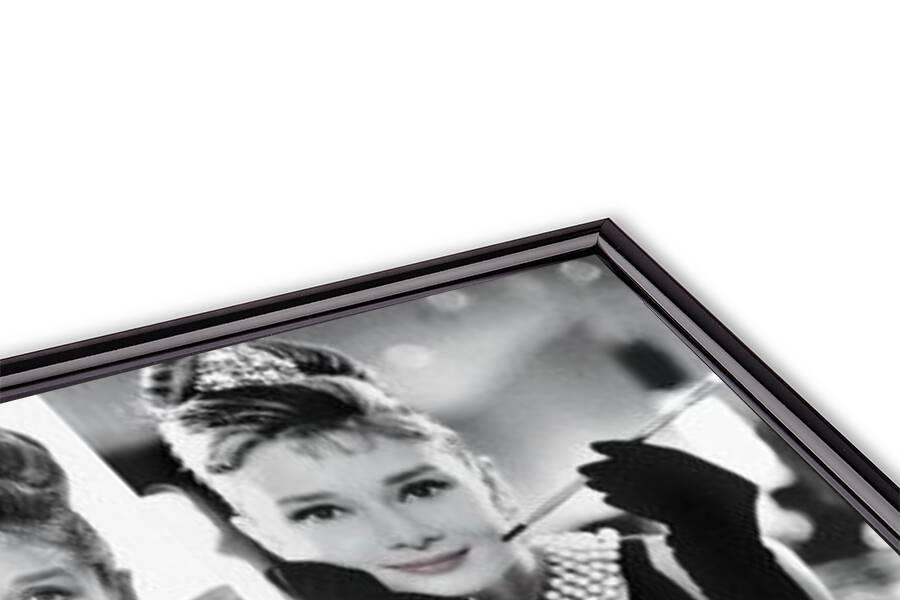 Plakát Audrey Hepburn - b & w