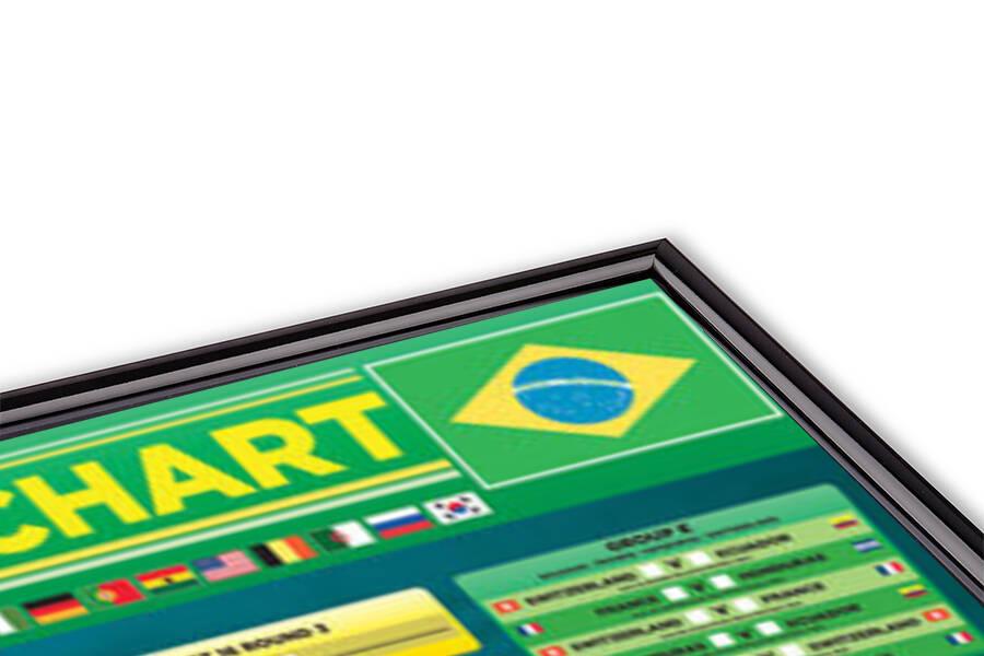 Plakát  World cup - Wallchart 2014