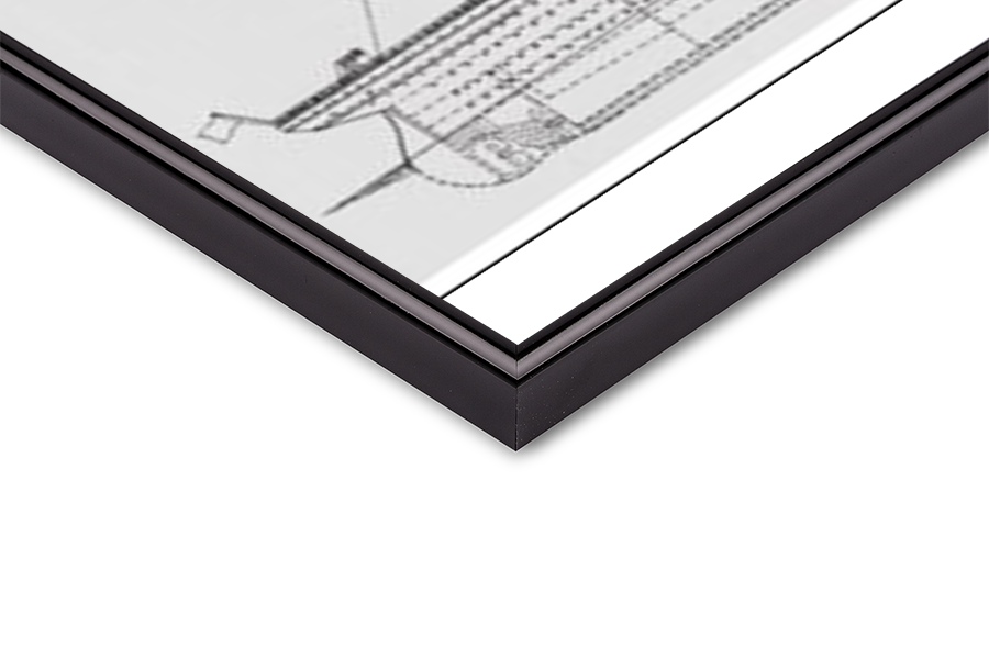 Obrazová reprodukce  Titanic - Plans B