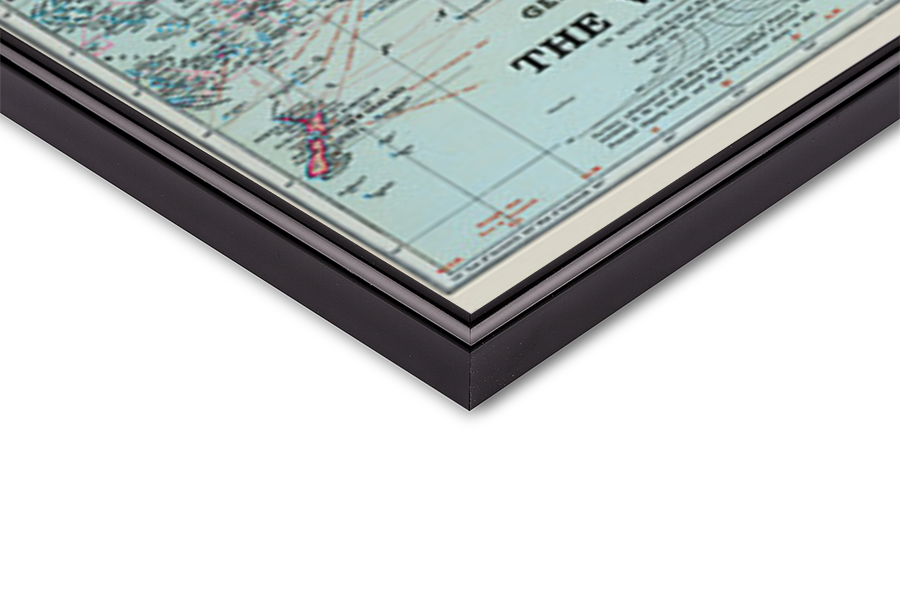 Plakát  Mapa světa
