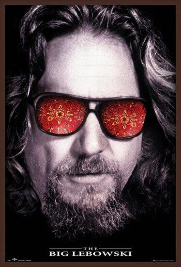 Plakát Big Lebowski - The Dude
