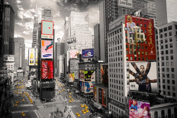 Posters Plakát, Obraz - New York - Times square 2, (91,5 x 61 cm)