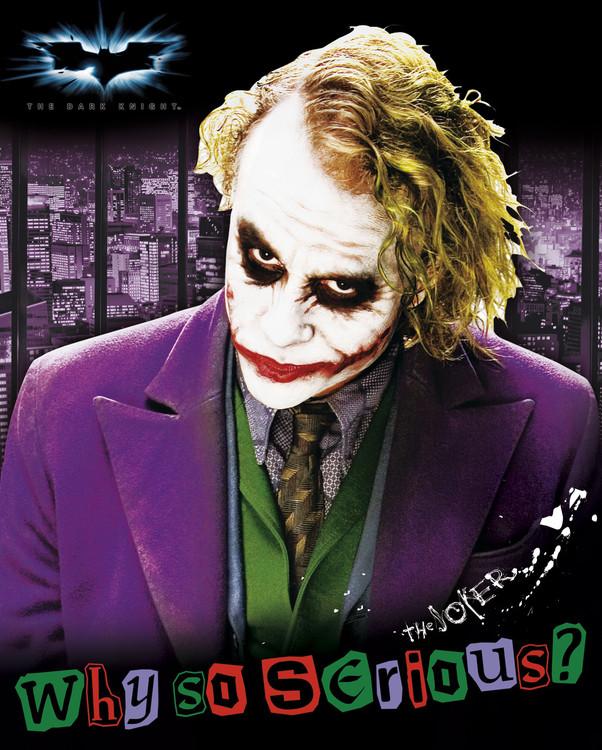 Posters Plakát, Obraz - Batman: The Dark Knight - Joker, (40 x 50 cm)