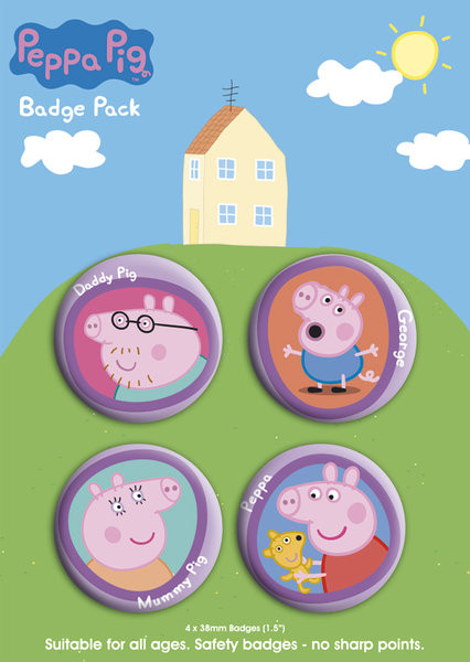 Posters Placka PEPPA PIG