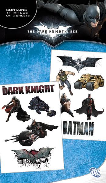 Posters Tetování BATMAN DARK KNIGHT RISES