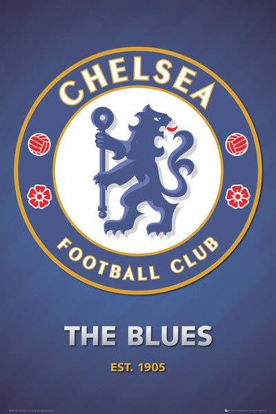 Posters Plakát, Obraz - Chelsea - club crest 2013, (61 x 91,5 cm)