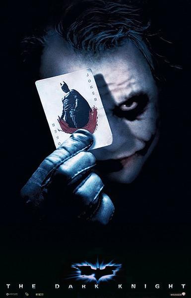 Posters Plakát, Obraz - BATMAN THE DARK KNIGHT - joker card, (68 x 98 cm)
