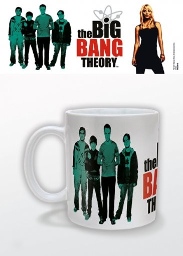 Posters Hrnek The Big Bang Theory (Teorie velkého třesku) - Green