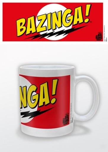 Posters Hrnek The Big Bang Theory (Teorie velkého třesku) - Bazinga Red