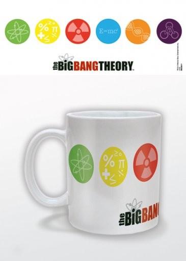 Posters Hrnek The Big Bang Theory (Teorie velkého třesku) - Symbols