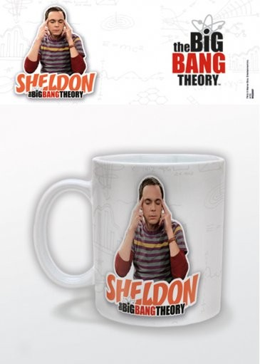 Posters Hrnek The Big Bang Theory (Teorie velkého třesku) - Sheldon
