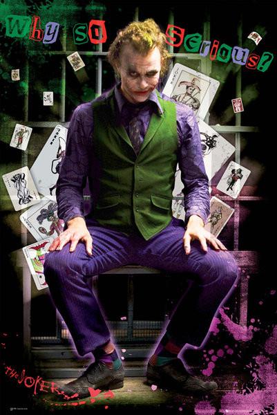 Posters Plakát, Obraz - BATMAN DARK KNIGHT - joker jail, (61 x 91,5 cm)