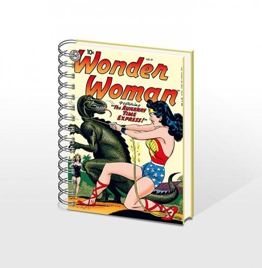 Posters WONDERWOMAN - zápisník A5 Psací potřeby