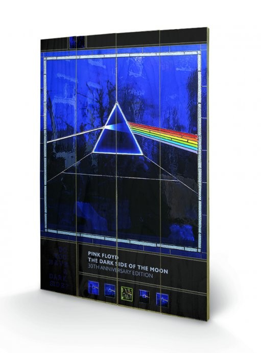 Posters Obraz na dřevě - Pink Floyd - Dark Side of the Moon- 30th Anniversary, (40 x 59 cm)