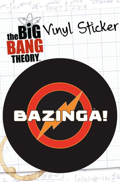 Posters Samolepka BIG BANG THEORY – bazinga