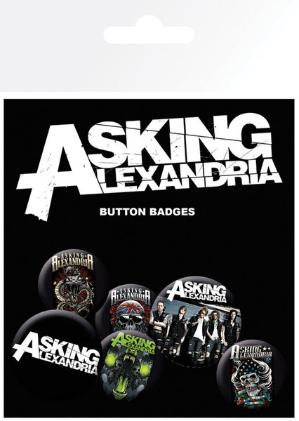 Posters Placka Asking Alexandria - Graphics