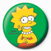 Posters Placka THE SIMPSONS - lisa