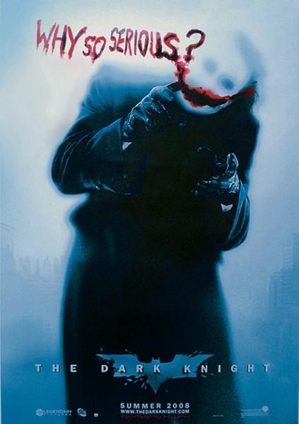 Posters Plakát, Obraz - BATMAN: The Dark Knight - Temný rytíř - Joker Why So Serious? (Heath Ledger), (68 x 98 cm)