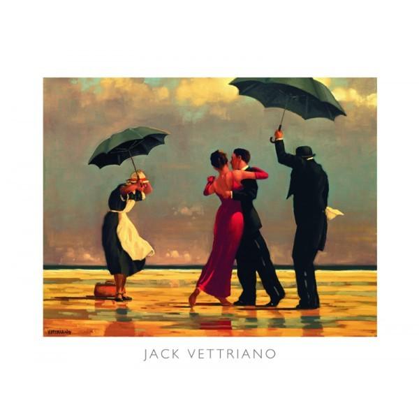 Posters Reprodukce Jack Vettriano - The Singing Butler (Zpívající lokaj), 1992, (50 x 40 cm)