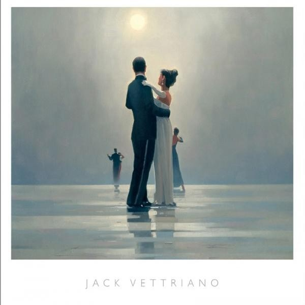 Posters Reprodukce Jack Vettriano - Dance Me To The End Of Love, 1998, (80 x 60 cm)