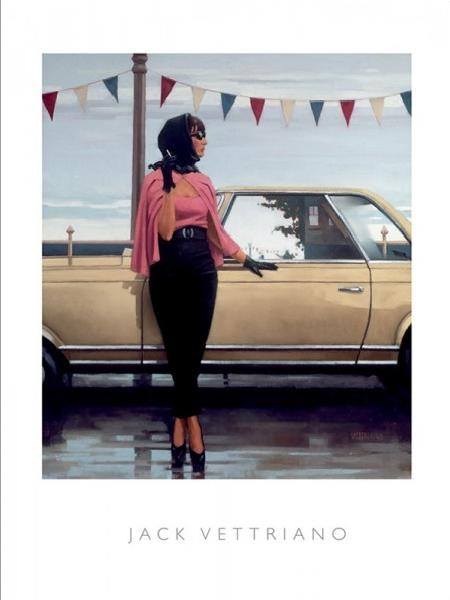 Posters Reprodukce Jack Vettriano - Suddenly One Summer, 2000, (40 x 50 cm)