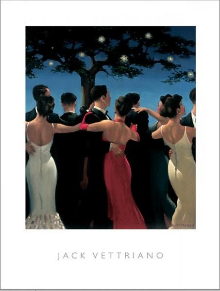Posters Reprodukce Jack Vettriano - Waltzers, 1992, (40 x 50 cm)