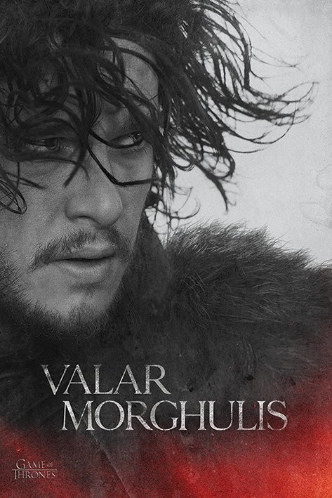 Posters Plakát, Obraz - Hra o Trůny - Game of Thrones - Jon Snow, (61 x 91,5 cm)