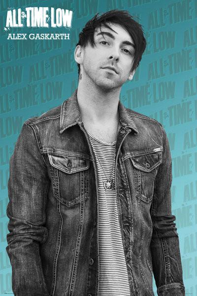 Posters Plakát, Obraz - All Time Low - Alex solo, (61 x 91,5 cm)