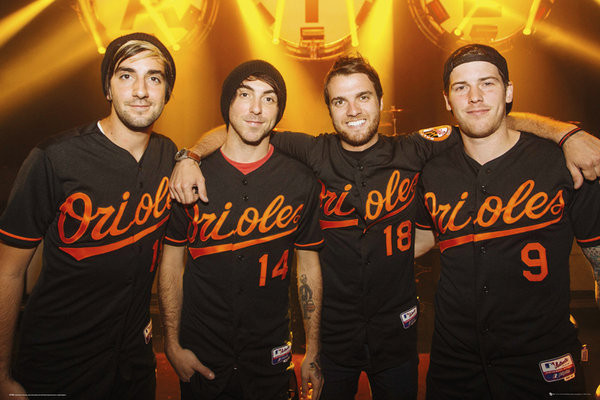 Posters Plakát, Obraz - All Time Low - Group, (91,5 x 61 cm)