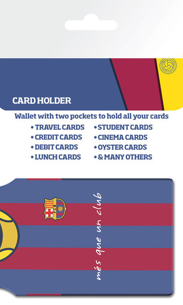 Posters FC Barcelona - Messi Shirt Pouzdro na karty