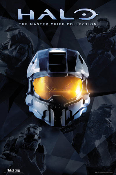 Posters Plakát, Obraz - Halo - Master Chief Collection, (61 x 91,5 cm)