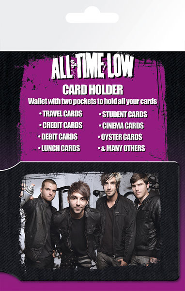 Posters All Time Low - Group Pouzdro na karty