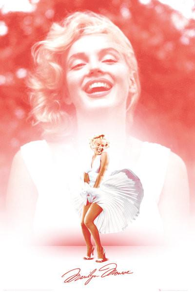 Posters Plakát, Obraz - Marilyn Monroe - Pink, (61 x 91,5 cm)