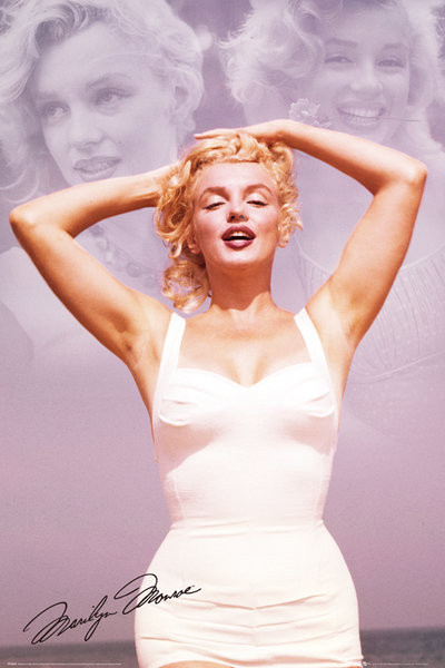 Posters Plakát, Obraz - Marilyn Monroe - Collage, (61 x 91,5 cm)