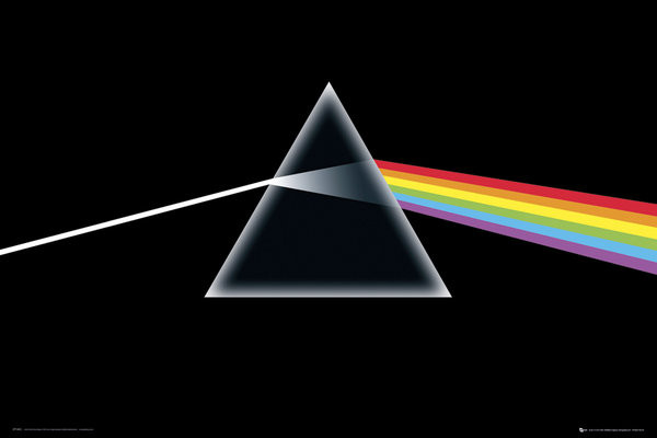 Posters Plakát, Obraz - Pink Floyd - Dark Side of the Moon, (91,5 x 61 cm)