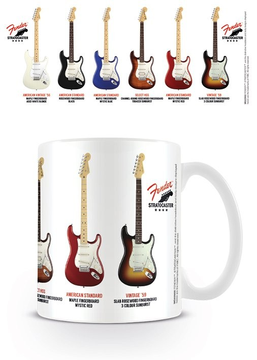 Posters Hrnek Fender - Stratocaster