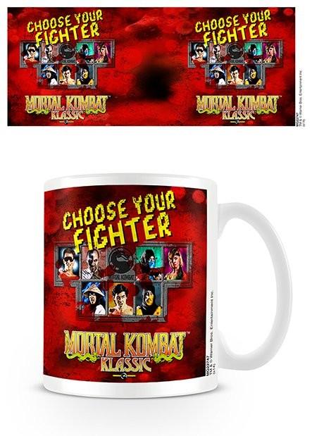Posters Hrnek Mortal Kombat - Choose Your Fighter