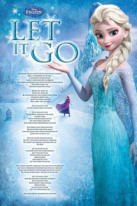 Posters Plakát, Obraz - Ledové království - Let It Go, (61 x 91,5 cm)