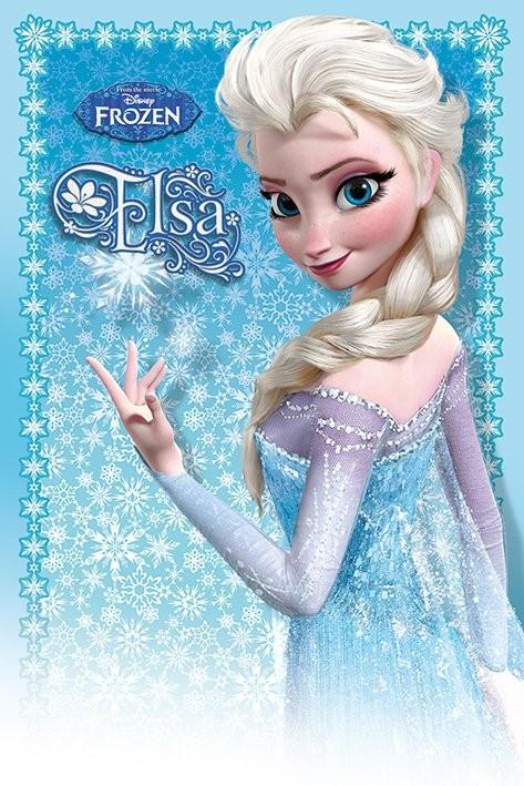 Posters Plakát, Obraz - Ledové království - Elsa, (61 x 91,5 cm)