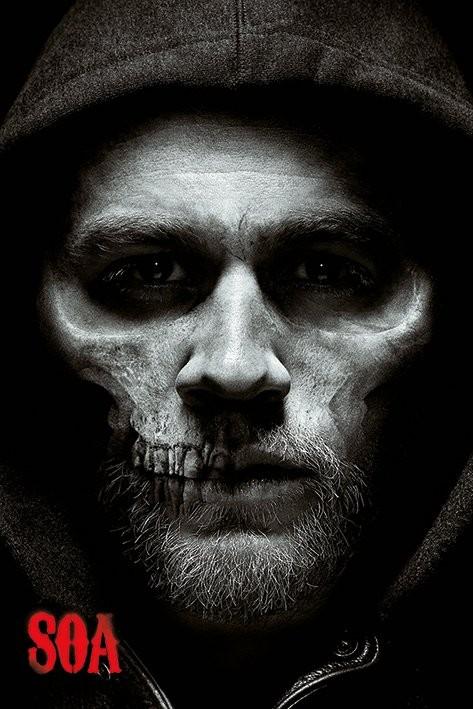 Posters Plakát, Obraz - Sons of Anarchy (Zákon gangu) - Jax Skull, (61 x 91,5 cm)