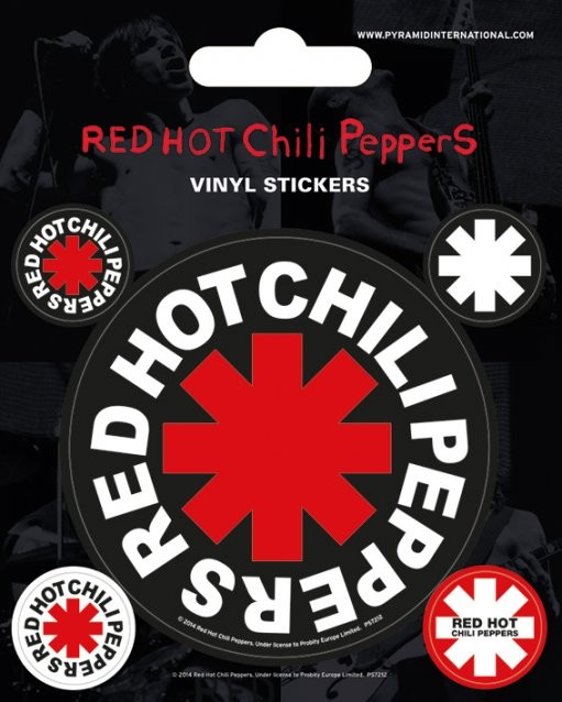 Posters Samolepka Red Hot Chili Peppers