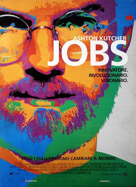 Posters Plakát, Obraz - jOBS - Ashton Kutcher as Steve Jobs, (70 x 100 cm)