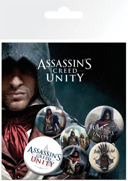 Posters Placka Assassin's Creed Unity - Characters
