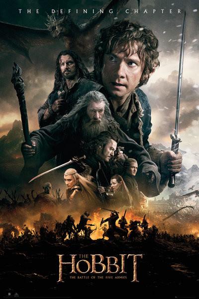 Posters Plakát, Obraz - Hobit 3: Bitva pěti armád - Fire, (61 x 91,5 cm)