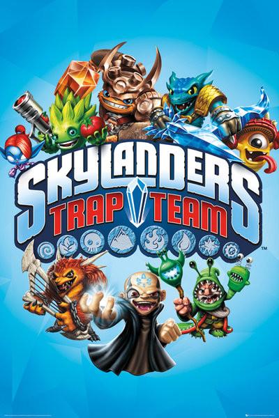Posters Plakát, Obraz - Skylanders Trap Team - Trap Team, (61 x 91,5 cm)
