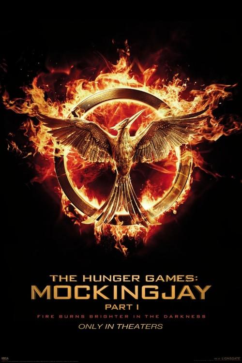 Posters Plakát, Obraz - Hunger Games: Síla vzdoru 1. část - Reprodrozd (Mockingjay), (61 x 91,5 cm)
