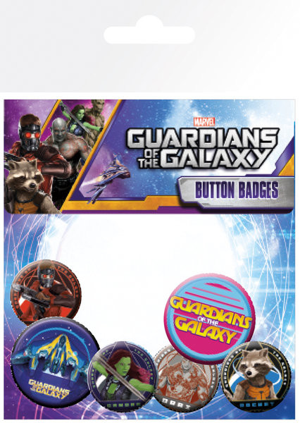 Posters Placka Strážci Galaxie - Characters