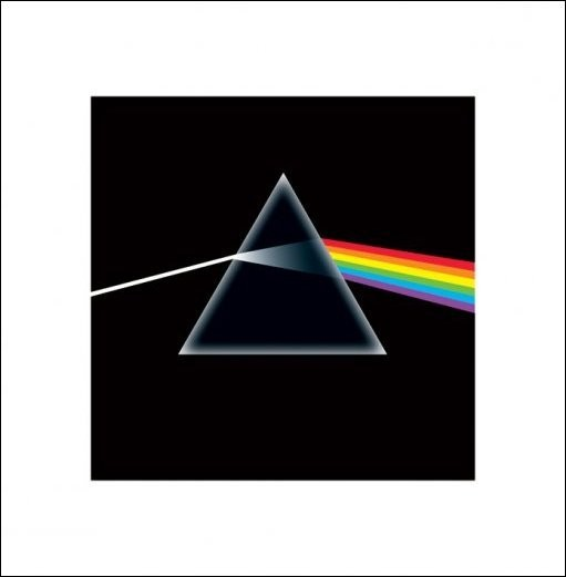 Posters Reprodukce Pink Floyd - Dark Side Of The Moon, (40 x 40 cm)